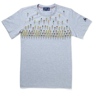 le coq sportif(ルコック) Tシャツ Depart(デパール) グレー【自転車】|velove