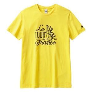 "le coq sportif(ルコック) Tシャツ Tour de Feance ""70s"" イエロー【自転車】 velove"