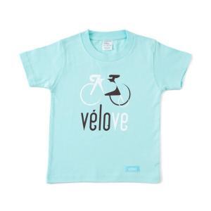 velove Logo Tシャツ velove (kid's)【自転車】|velove