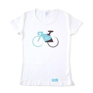 velove Logo Tシャツ love (Women's)【自転車】|velove