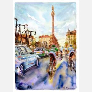 小河原政男 アートフレーム「マルセイユ」【自転車】 ※レターパック対象外|velove
