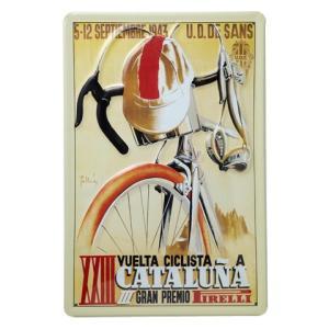 Heart Of Ireland(ハートオブアイルランド) スチールサイン「カタルーニャ」【自転車】 ※レターパック対象外|velove