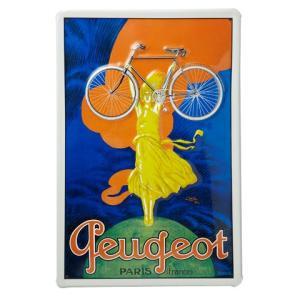 Heart Of Ireland(ハートオブアイルランド) スチールサイン「プジョー」【自転車】 ※レターパック対象外|velove