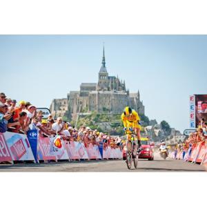田中苑子 パネル「Mont Saint-Michel」 297x420mm【自転車】 ※レターパック対象外|velove