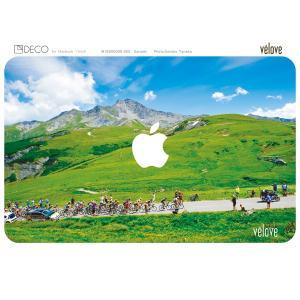 DECOSKIN(デコスキン) Col de la Madeleine(マドレーヌ峠) MacBook Air 11-inch【自転車柄】 velove