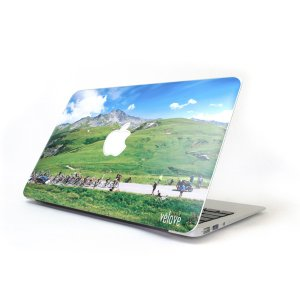 DECOSKIN(デコスキン) Col de la Madeleine(マドレーヌ峠) MacBook Air 11-inch【自転車柄】 velove 02