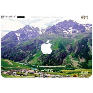 DECOSKIN(デコスキン) Col du Lautaret(ロータレ峠) MacBook Air 11-inch【自転車柄】 velove 02