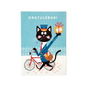 ORANGE AIRLINES(オレンジエアライン)  ポストカード【自転車】 velove