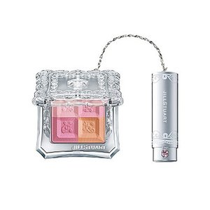 〓OUTLET〓 JILL STUART ジルスチュアート ミックス ブラッシュ コンパクト N 02 fresh apricot vely-deux