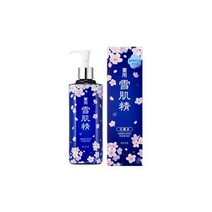 〓OUTLET〓 KOSE 薬用 雪肌精 化粧水 500ml (限定2017 桜デザイン みずみずしいタイプ)|vely-deux