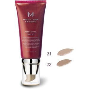 MISSHA ミシャ パーフェクトカバー  BBクリーム 21 (明るめの肌色) 50ml  SPF42/PA+++|vely-deux