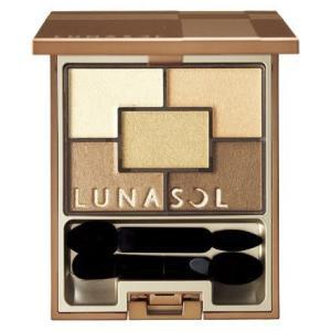 (定形外郵便) カネボウ LUNASOL ルナソル スパークリングアイズ 01 Gold Spark...