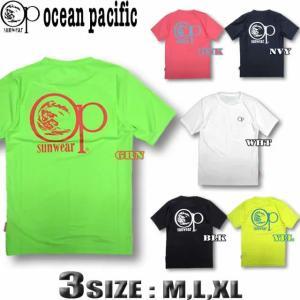 OP オーシャンパシフィック メンズ 半袖 Tシャツ ラッシュガード  水着 518476|venice