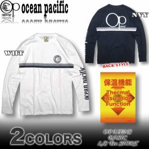 OP オーシャンパシフィック メンズ ロンT 長袖Tシャツ サーフブランド 536075|venice