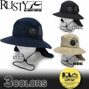 メンズ サーフハット 帽子 RUSTY ラスティー  サーフブランド 水着 917902|venice