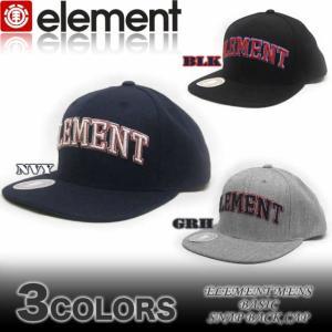 ELEMENTエレメントメンズ/AE022-905/ キャップ スケボー 帽子|venice