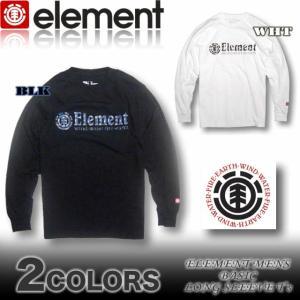 ELEMENT エレメント メンズ ロンT 長袖Tシャツ AF022-050|venice