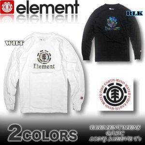 ELEMENT エレメント メンズ ロンT 長袖Tシャツ AF022-051|venice