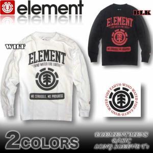 ELEMENT エレメント メンズ ロンT 長袖Tシャツ AF022-052|venice