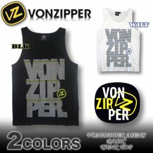 VON ZIPPERボンジッパータンクトップ サーフブランド AF211-350|venice