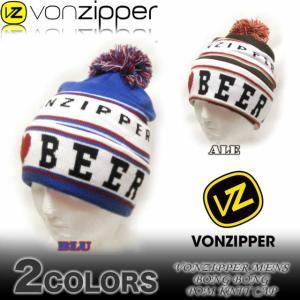 VON ZIPPERボンジッパー メンズ ビーニー ニットキャップ 帽子 スノーボードAF212-900|venice