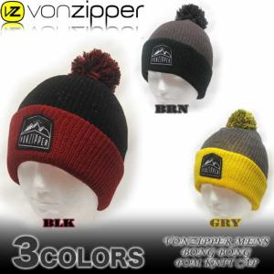 VON ZIPPERボンジッパー メンズ ビーニー ニットキャップ 帽子 スノーボードAF212-905|venice