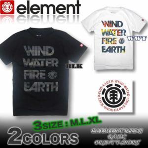 ELEMENT エレメント メンズ 半袖 Tシャツ スケボー AG021-203|venice