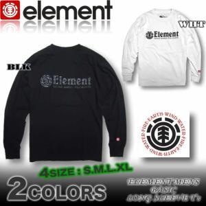ELEMENT エレメント メンズ ロンT 長袖Tシャツ スケボーブランド ロングスリーブ AG022-050|venice