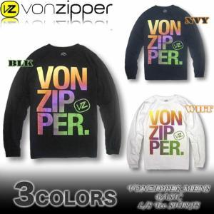 VON ZIPPERボンジッパー AG212-050  ロンT 長袖Tシャツ|venice
