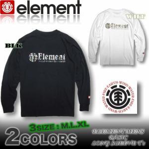 ELEMENT エレメント メンズ ロンT 長袖Tシャツ スケボーブランド ロングスリーブ AH021-050|venice
