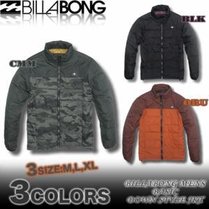 SALE!!/BILLABONGビラボンメンズアウトレット/AE012-752/ベーシックダウンスタイル中綿ジャケットアウター/サーフブランド venice