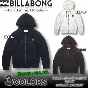 ビラボン BILLABONG メンズ 総裏ボア ニット ジップアップ パーカー ジャケット サーフブランド アウトレット AG012-601 venice