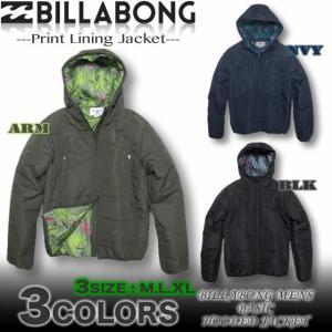 ビラボン BILLABONG メンズ ダウンスタイル 中綿 パーカー ジャケット サーフブランドアウトレット  AG012-768 venice