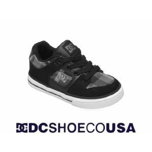 DC SHOE/ディーシーキッズ-トドラーPUREスリッポンタイプ【BPD】|venice