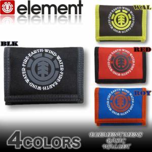 SALE!!メール便対応/ELEMENT/エレメントメンズ/AF022-982三つ折りベルクロ財布|venice