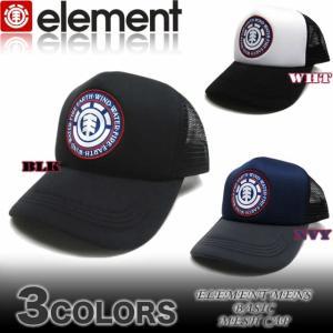 ELEMENT エレメント メンズ  メッシュキャップ スケボー 帽子 AH021-917|venice