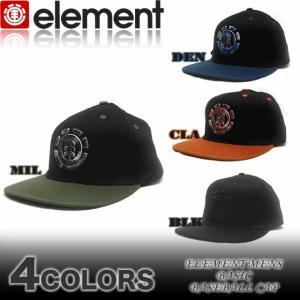 ELEMENTエレメントメンズキャップ 帽子AF022-900 スケボー|venice