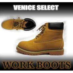 VENICE STORE SELECT/GB-3126/PUレザーワークブーツ|venice