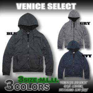 VENICE SELECT/VNC26553/7Gカウチン柄/裏ボアニットパーカージャケット|venice