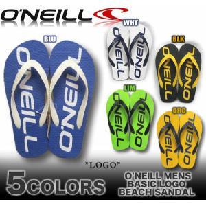 O'NEILL/オニールメンズ/626984/ベーシック/ロゴプリントビーチサンダル|venice