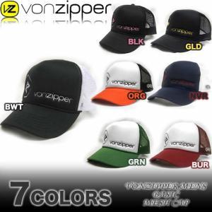 VON ZIPPERボンジッパー219-M90/メッシュキャップ帽子|venice