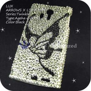 AQUOS PHONE 103SH/DM012SHケースカバー豪華スワロフスキーデコ電AGEHA-LUX-103SH|venus-hk|06