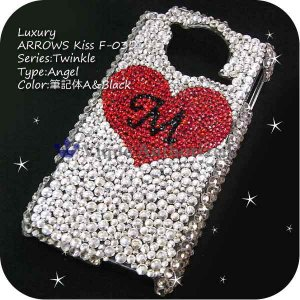 PRADA phone by LG L-02Dケースカバー 豪華スワロフスキーデコ電ANGEL-LUX-L02D|venus-hk|02