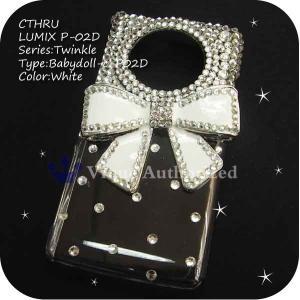 AQUOS PHONE 103SH/DM012SHケースカバー豪華スワロフスキーデコ電BABYDOLL-CTHRU-103SH|venus-hk|06