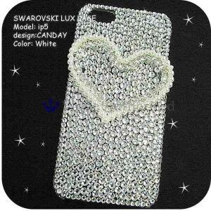 AQUOS Phone EX SH-02Fケースカバー豪華スワロフスキーデコ電CANDAY-LUX-SH02F|venus-hk