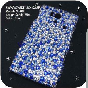 AQUOS Phone EX SH-02Fケースカバー豪華スワロフスキーデコ電CANDYMIX-LUX-SH02F|venus-hk