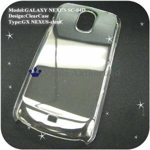 GALAXY NEXUS SC-04Dケースカバー ハード透明クリアケース CLEAR CASE-NEXUS|venus-hk