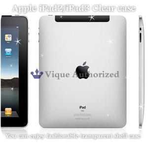iPad2/iPad3ケースカバー透明クリアハードケースCLEAR CASE-iPad3(アイパッド2、アイパッド3世代)|venus-hk