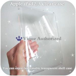 iPad2/iPad3ケースカバー透明クリアハードケースCLEAR CASE-iPad3(アイパッド2、アイパッド3世代)|venus-hk|02