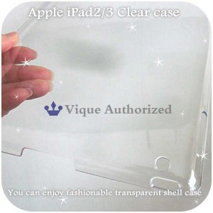 iPad2/iPad3ケースカバー透明クリアハードケースCLEAR CASE-iPad3(アイパッド2、アイパッド3世代)|venus-hk|03
